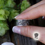 Обручальные кольца «Кельтские псы» фото 3