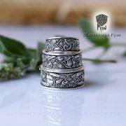 Обручальные кольца «Кельтские псы» фото 6