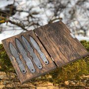 Кованые метательные ножи фото 1