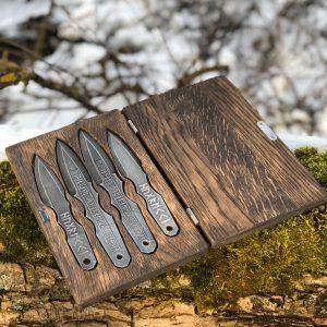 Кованые метательные ножи