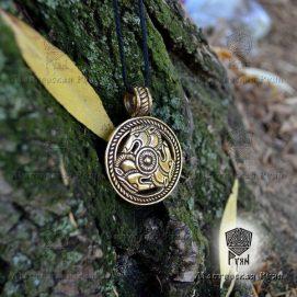 Медальон волки-скифские
